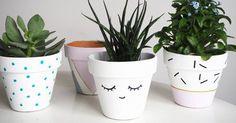 Découvrez 4 idées pour customiser un pot facilement.