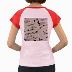 Coffe+Cup+Women's+Cap+Sleeve+T-Shirt