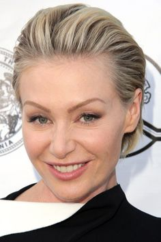 very short slicked back hairstyle for women