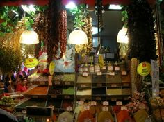 Spice and dried fruit and vegetables galore at Spice Market, Istanbul- a feast to all senses!