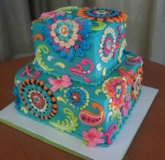 Celebration Cakes : Mary's Cakes & Pastries Vera Bradley