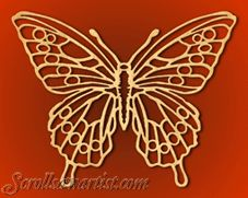 Scroll Saw Patterns :: Animals & Insects :: Butterflies & Dragonflies -