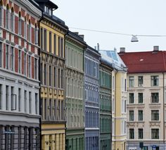 Oslo, Norway Townhouses