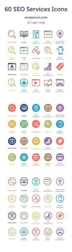 SEO Services Icons: useful set of flat icons that includes 60 different icons Flat Design Icons, Icon Design, Flat Icons, Design Ios, Wireframe, Social Design, Mobile Design, Interface Design, Grafik Design