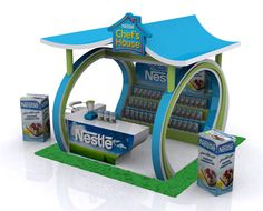 Nestle Chef House by Hamza Shaukat, via Behance