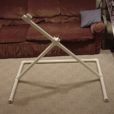 PVC Bike Repair Stand: 7 Steps (with Pictures) Bike Work Stand, Bike Repair Stand, Bike Stands, Bicycle Stand, Homemade Bike Stand, Bike Maintenance Stand, Cheap Bikes, Pvc Pipe Projects, Pallet Projects