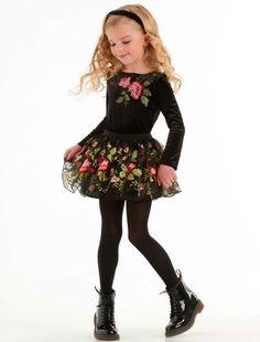 Biscotti Midnight Garden Skirt Set 2019 Girl's Skirts Little Girl Fashion, Little Girl Dresses, Girls Dresses, Young Fashion, Fashion Kids, Moda Kids, Kids Outfits, Cute Outfits, Beautiful Little Girls