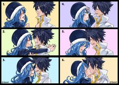 Грей и Джувия ♡ Gruvia ♡ Fairy Tail