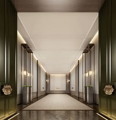 Hotel Corridor, Circulation, Chinese Style, Resort Spa, Coffee Shop, Entrance, Chinese Interior, Presentation, Lounge