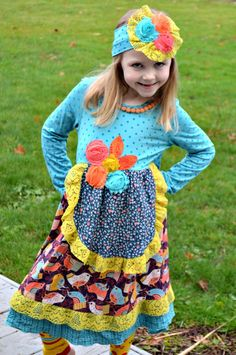 Let ZaZa Couture Highlight Your Spunky Daughter's Style! #review #holidayfashion #littlefashionista