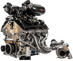 2016 Ford GT's engine