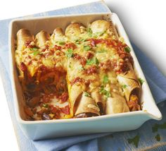 Inject a bit of Mexican spice into your weekday menu with this vegetarian enchilada filling