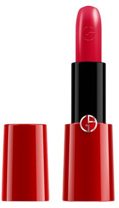Love this rich shade of pink lipstick by Giorgio Armani