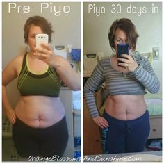 PiYo Beachbody Review -Before and After // Orange Blossoms and Sunshine