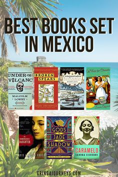 This list covers the 20 best books set in Mexico, with a book for every type of reader! Discover classics like Under the Volcano by Malcolm Lowry, Books on Mexican History like Conquistador: Hernán Cortés, King Montezuma, and the Last Stand of the Aztecs by Buddy Levy, and fiction books by Mexican authors like Caramelo by Sandra Cisneros. | books about mexico culture | best books about Mexico | books on Mexico | famous mexican books | novels about mexico Mexico Vacation Outfits, Vacation Trips, Travel Guides, Travel Tips, Travel Destinations, Sandra Cisneros, Famous Mexican, Mexico Culture, Travel Books