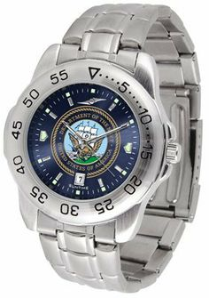 Sport Steel Band Ano-chrome - Men's - Men's College Watches by Sports Memorabilia. $59.95. Makes a Great Gift!. Sport Steel Band Ano-chrome - Men's