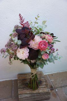 Ramo para novia  Flores en el Columpio
