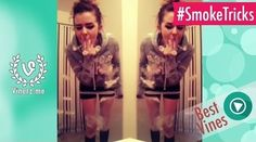 Watch this girl do some killer smoke tricks #StonedTube #StonedMediaGroup