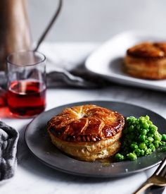 Chicken, spring onion and tarragon Pithiviers recipe :: Gourmet Traveller