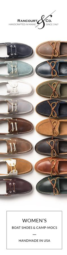 e5c8da74f66 Shop Rancourt   Co. Handmade Leather Shoes