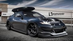 Nissan by samvesters - Tuning Nissan 370z, Datsun 240z, Wallpaper Carros, Stance Nation, Car Tuning, Jdm Cars, Cars Motorcycles, Cool Cars, Race Cars
