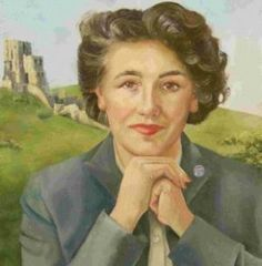 Enid Mary Blyton (Novelist, poet, teacher) ~ Born: 11 August 1897 in East Dulwich (a suburb of London) England ~ Died: 28 Nov 1968 (aged in Hampstead, England (Resting place: Golders Green Crematorium ~ Other pen name: Mary Pollock Enid Blyton Books, The Magic Faraway Tree, The Famous Five, Childrens Books, Kid Books, Book Writer, Vintage Children's Books, Children's Literature, Children's Book Illustration