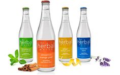 Herb infused sparkling water... a light choice for a mix, or on it's own.
