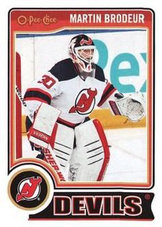 Hockey Cards, Baseball Cards, Martin Brodeur, New Jersey Devils, Trading Cards, Nhl, Sports, Fictional Characters, Ebay