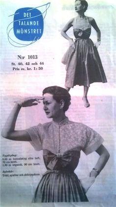 mönster klänning 50 tal gratis