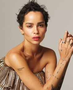 Zoe Kravitz photographed by Anthony Maule for InStyle US May 2018 Stylist: Andrew Mukamal Hair: Nikki Nelms Makeup: Nina Park