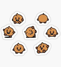 High quality Babies gifts and merchandise. Inspired designs on t-shirts, posters, stickers, home decor, and more by independent artists and designers from around the world. Pop Stickers, Tumblr Stickers, Kawaii Stickers, Printable Stickers, Anime Stickers, Korean Stickers, Kpop Diy, Bullet Journal Banner, Homemade Stickers