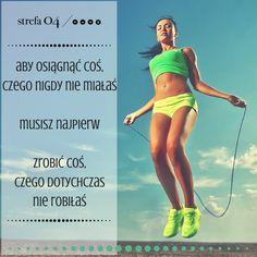 www.strefa04.pl/blog Jeśli chcesz dowiedzieć się więcej na temat ciekawostek związanych z treningiem i odżywianiem, sprawdź już teraz naszego bloga! #fitness #odchudzanie #trening #motywacja Sport Motivation, Fitness Motivation, Self Realization, Juice Plus, Believe In You, Motto, Best Quotes, Coaching, Health Fitness