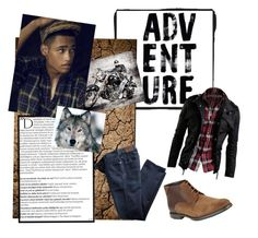 """""""The Time of His Life"""" by rainbow1027 ❤ liked on Polyvore featuring Balmain, BLACK BROWN 1826, men's fashion and menswear"""