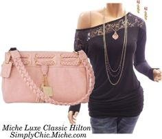 March 2013 2013 Miche Luxe Classic Hilton outfit1