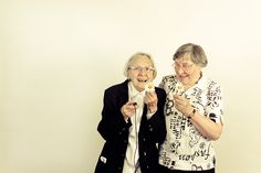 Photobooth are a great way of getting intimate shots of the older generation! #photobooth #photobooths
