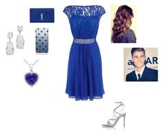 Prom with Justin by harrystylesandliampayne on Polyvore featuring mode, Coast, Gianvito Rossi, Yves Saint Laurent, Kate Spade and Justin Bieber