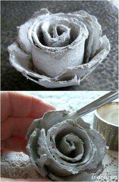 35 Impossibly Creative Projects You Can Make with Recycled Egg Cartons - Egg cartons aren't something I used to think about a lot. Yeah, I know how silly and strange that sentence sounds hanging in the air. But after you see some of the absolutely amazing crafts that people make out of them, you'll suddenly be thinking about them a lot too. Flower Crafts Kids, Paper Flowers Craft, Owl Crafts, Diy Home Crafts, Crafts For Kids, Horse Crafts, Diy Flowers, Decor Crafts, Crate Crafts