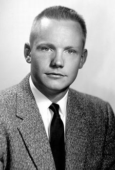 1956 ... Neil Armstrong... first man to walk on the moon.