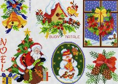 ru / Фото - A punto croce 27 - Los-ku-tik Xmas Cross Stitch, Cross Stitch Cards, Cross Stitching, Cross Stitch Patterns, Christmas Bells, Xmas Ornaments, Christmas Cross, Easter Cross, Christmas Embroidery