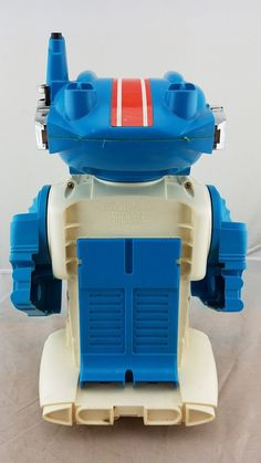 Vintage Mister Brain Robot Battery Operated Remco Toys USA orig Box manual | eBay