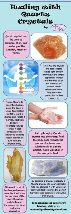 Healing with quartz