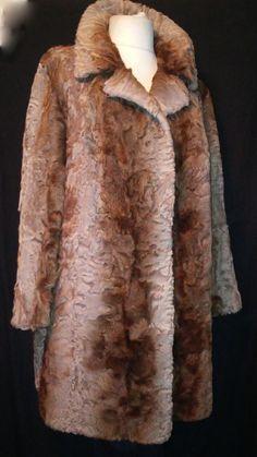 @avito.ru @ebay @instagramyour sixth sense BROADTAIL FUR COAT  Brown karakul  jacket size xxl #yoursixthsense #BasicJacket