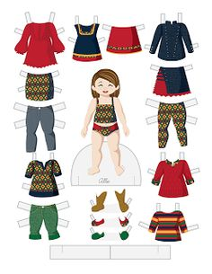 Paper Doll School: Toddler Fashion Friday - Allie