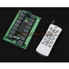 Modul pentru automatizari, 15 canale, cu o telecomanda - 200007