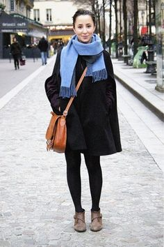 24 College Students Who Seriously Excel In Street Style #refinery29  http://www.refinery29.com/45283#slide-3  University of Colorado, COPhoto: Courtesy of College Fashionista
