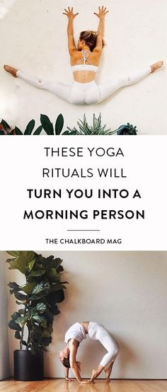 GIRLBOSS FITNESS: How to become a morning person with these yoga rituals.