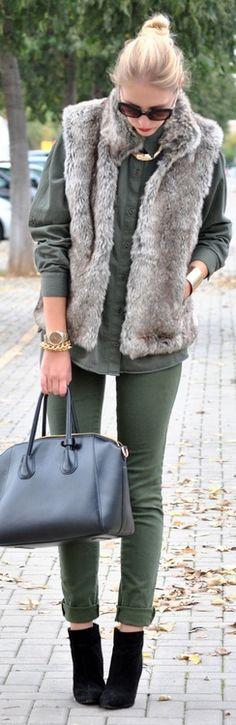 street style ♥✤   Keep the Glamour   BeStayBeautiful