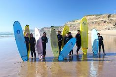 Global Surf school & camp -Portugal: Let´s go surfing in Portugal! Praia da Areia Branca - Peniche