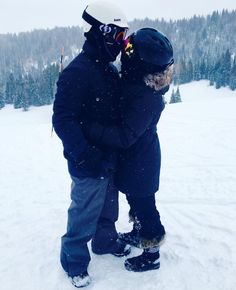 Demi and Wilmer  on holidays the beginning of January