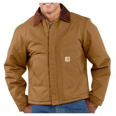 Carhartt Men's Arctic Quilt Lined Duck Traditional Jacket - J002  In Medium